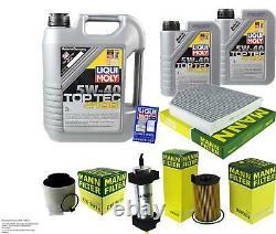 Revision Filter Liqui Moly Oil 7l 5w-40 For Audi Q5 8r Sq5 Tdi Quattro