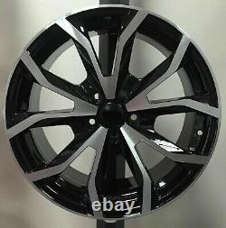 Set 4 Alloy Wheels Compatible A U D I A3 Starting From 18 + 4 Tires
