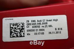 Set Audi A6 S6 4g Before Sbbr Tail Lights Led Position Light Kit