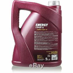 Set Inspection 9 L Mannol Energy 5w-30 LI Combi + Mann Filter 10938832