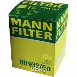 Set Inspection Mann-filter Kit 5w30 Engine Oil Longlife Audi A8 4d2