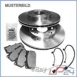 Set Kit Set 2 Ventilated Discs Ø350 + 4 Front Brake Pads 31886088