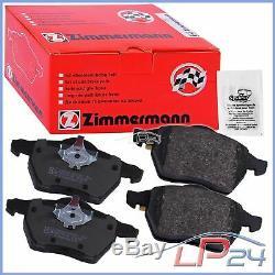 Set Kit Set Zimmermann Discs + Brake Pads Rear Axle 32133341