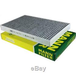 Set Mann-filter Inspection Kit 5w30 Engine Oil Longlife Audi A6 4a C4 Before De