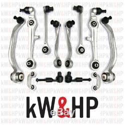Set Suspension Arm Audi A4 2000-2004 Complete Kit 12 Pieces (kw13001)