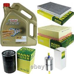 Sketch D'inspection Filter Castrol 5l 5w30 Oil For Audi A4 8e2 B6 1.8' T