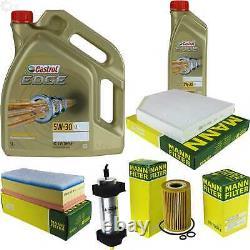 Sketch D'inspection Filter Castrol 6l 5w30 Oil For Audi, Q5 8r 2.0