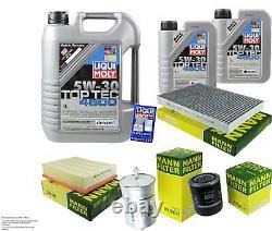 Sketch D'inspection Filter Oil Liqui Moly 7l 5w-30 For Audi A6 4b C5 2.4