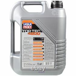Sketch Inspection Filter Liqui Moly Oil 10l 5w-30 For Audi A6 Allroad 4fh