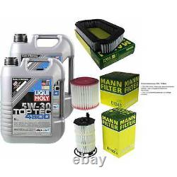 Sketch Inspection Filter Liqui Moly Oil 10l 5w-30 From Audi A8 4e
