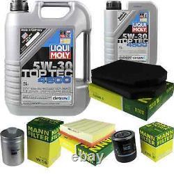 Sketch Inspection Filter Liqui Moly Oil 6l 5w-30 For Audi A8 4d2 4d8 2.8