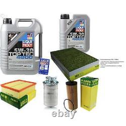 Sketch Inspection Filter Liqui Moly Oil 6l 5w-30 For Audi All 4bh C5 2.5