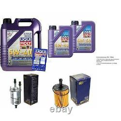 Sketch Inspection Filter Liqui Moly Oil 7l 5w-40 For Audi A3 Sportback 8pa