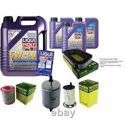 Sketch Inspection Filter Liqui Moly Oil 8l 5w-40 For Audi A8 4e 4.2 Fsi