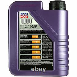 Sketch Inspection Filter Liqui Moly Oil 9l 5w-40 For Vw Passat Variant 32b