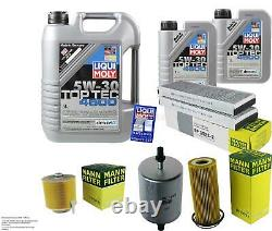Sketch Inspection Filter Oil Additive Liqui Moly 7l 5w-30 For Audi A6 4f2