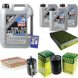 Sketch Inspection Filter Oil Liqui Moly 8l 5w-30 For Audi A6 4b C5 Rs6