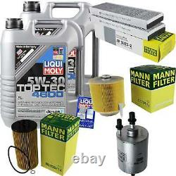 Sketch Inspection Filter Oil Liqui Moly Oil 10l 5w-30 For Audi A6 4f2