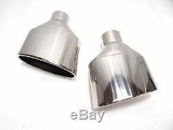 Stainless Steel Exhaust Pipe Kit Oval 95x152mm Abe Audi Rs4 Rs6 Tt Rs Optics