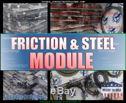 Steel And Friction Modules Clutch Set, Plate, Module, Audi, Cvt, 01j, Multitronic