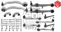 Steering Set Wheel Suspension Kit Pro Front Axle Febi Bilstein 39404
