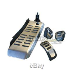 Support Kit Schal. Audi A6 4f C6 + S6 Original Front Inox + Foot Pedal