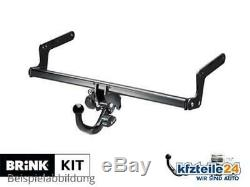 Trailer Hitch Removable Clutch Kit Brink (bma) + E-set-up For