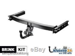 Trailer Hitch Removable Clutch Kit Brink (bmu) + E-set For Audi