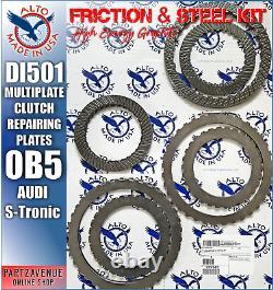 0B5 Acier Friction, Réparation Pièces Multi Disque, Embrayage Audi Q5, A4, A5