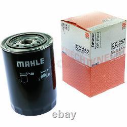 10x Original Mahle / Knecht Filtre Oc 257 + 10x Sct Moteur Flush Rinçage de