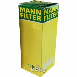 10x Original Mann Filtre à Huile Hu 842 X + 10x Sct Moteur Flush Rinçage de