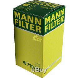 10x Original Mann Filtre à Huile W 719/45 + 10x Sct Moteur Flush Rinçage de
