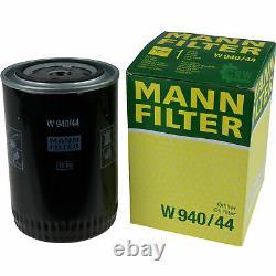 10x Original Mann Filtre à Huile W 940/44 + 10x Sct Moteur Flush Rinçage de
