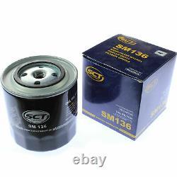 20x Original Sct Filtre à Huile Sm 136 + 20x Sct Moteur Flush Rinçage de Moteur