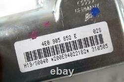 4E0907560 Set Allumage Démarrage Avec ECU Moteur AUDI A8 4E 4.2 246KW 4