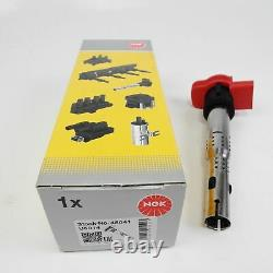 4x NGK U5014 48041 Bobine D'Allumage A4 A5 A6 A7 A8 Q7 R8 2.0 5.2 FSI TFSI
