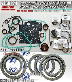 5HP24 Joints Et Joint Friction Disques OVERHAUL ZF5HP24A AUDI 2WD AWD 4X4 KIT