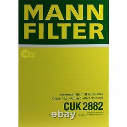 5x Mann Filtre Filtre Filtre D'Habitacle Filtre à Air Pour VW Golf III 1H1 1.9 D
