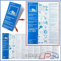 Ate Kit Jeu Set 24.0136-0103.1 Disques Ventilés Ø385 + Plaquettes De Frein Avant