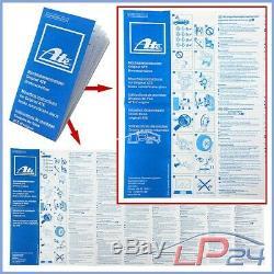 Ate Kit Jeu Set Disques 24.0112-0210.1 Pleins Ø300+ Plaquettes De Frein Arrière