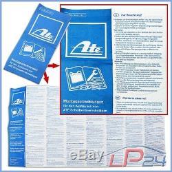 Ate Kit Jeu Set Disques 24.0125-0158.1 Ventilés Ø312+ Plaquettes De Frein Avant