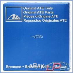 Ate Kit Jeu Set Disques 24.0130-0185.1 + Ceramic Plaquettes De Frein Avant