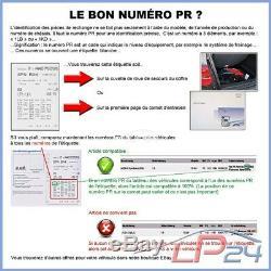 Ate Kit Jeu Set Plaquettes Garnitures De Frein Essieu Avant 13.0460-4993.2