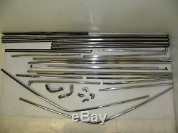 Audi 80 B2 TYP81 1982 Set Kit de Extérieur Chrome Rayures Bords Arround Portes