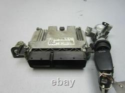 Audi A3 (8P1) 2.0 Tdi Commande Moteur 0281013154 03G906021GL Set de Serrures