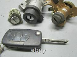Audi A4 (8E2, B6) S4 Quattro Unité Moteur 0261207990 8E0910560 Set de Serrures
