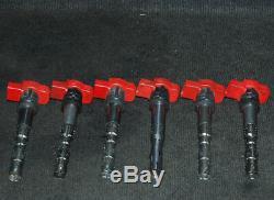 Audi A4 Allumage Bobine Set Kit ZSE032 0040102032 2.0 Essence 110kw 2003