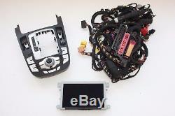 Audi A5 RS5 2012 Conduite à gauche Mmi 3G Haut Navigation Set Kit avec Câblage