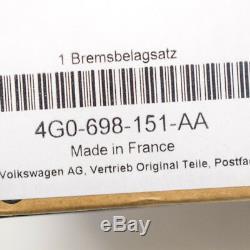 Audi A7 Frein avant Coussinets Set Kit 4GA 3.0 Tdi 150kw 4G0698151AA 2012 Neuf
