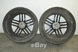 Audi Q7 4L 4.2 Tdi Quattro 2007 Rhd Alliage Roue Set Kit 9JX22 Pneus 10888297
